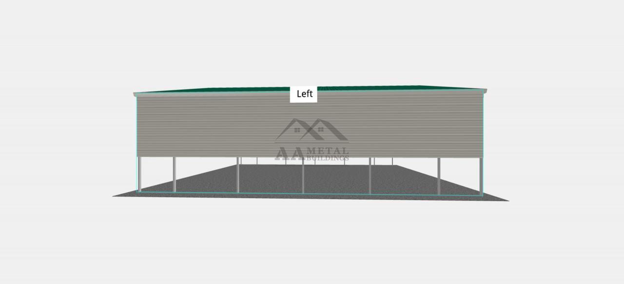 24X25' Steel Carport