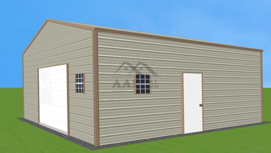 24x26' Steel Garage