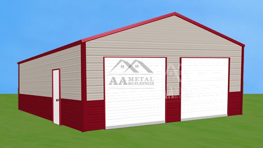 26x36' Steel Garage