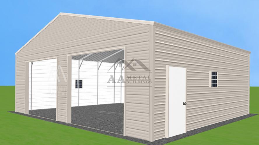 30x25' Steel Garage