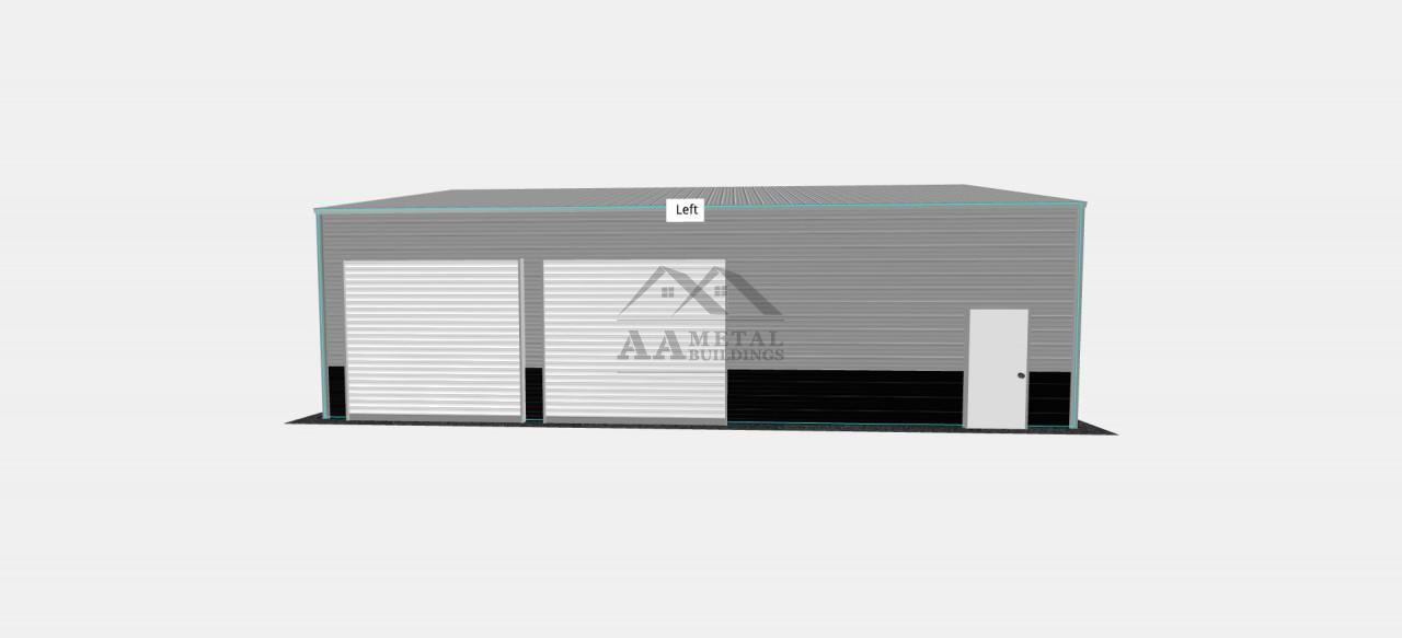30x40' Steel Garage