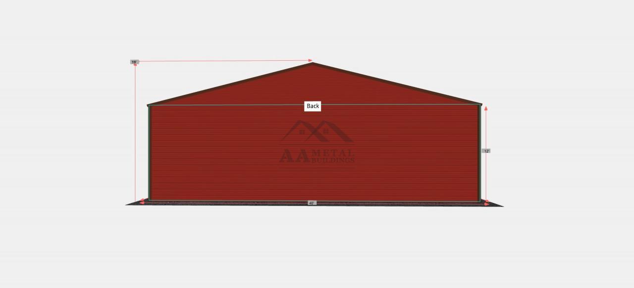 40x60' Steel Garage