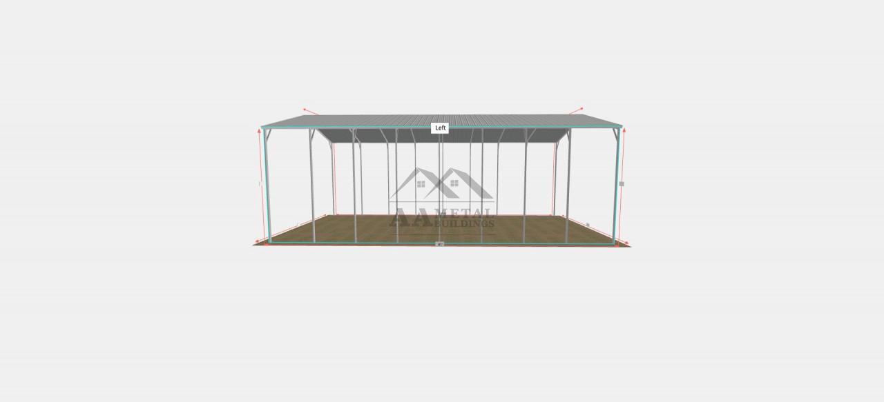 24 x 40 Steel Carport