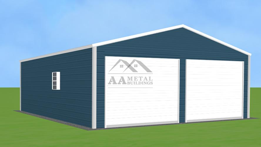 24x30' Metal Garage