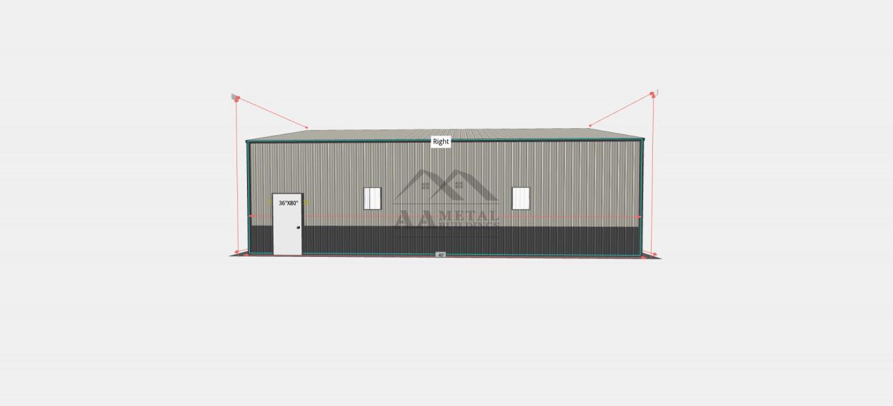 30x41' Steel Garage