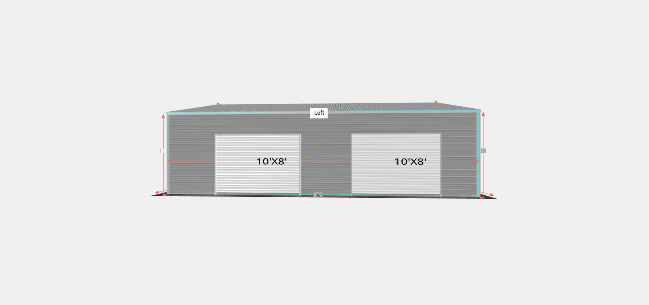 26x36' Side Entry Garage