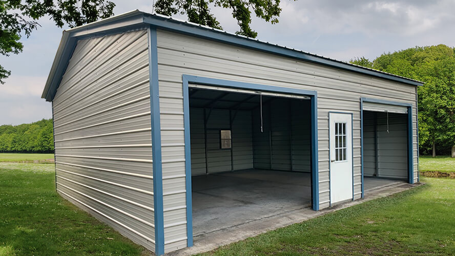 24x30 Two Car Garage