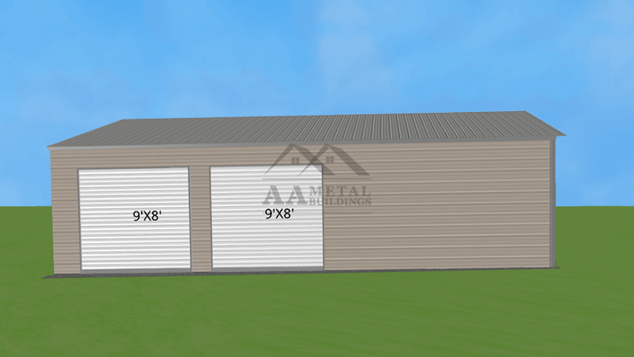 24x40 Side Entry Garage