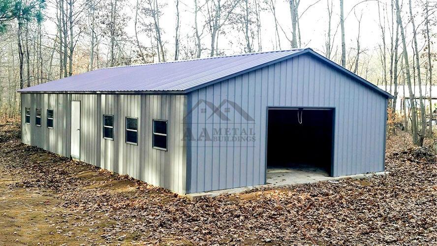 24X50 Commercial Metal Building