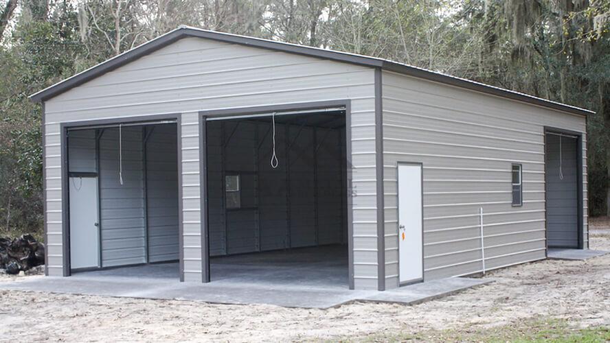 26x45 Steel Garage Building