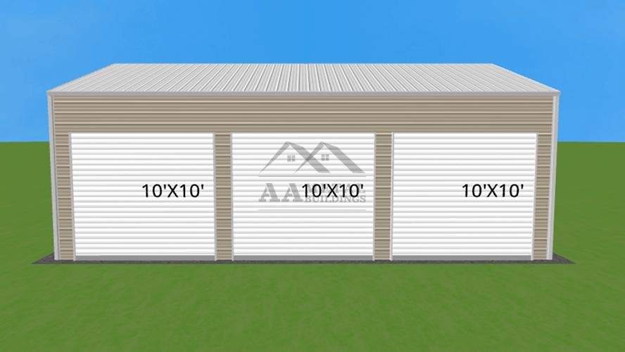 28x35 Side Entry Garage Building