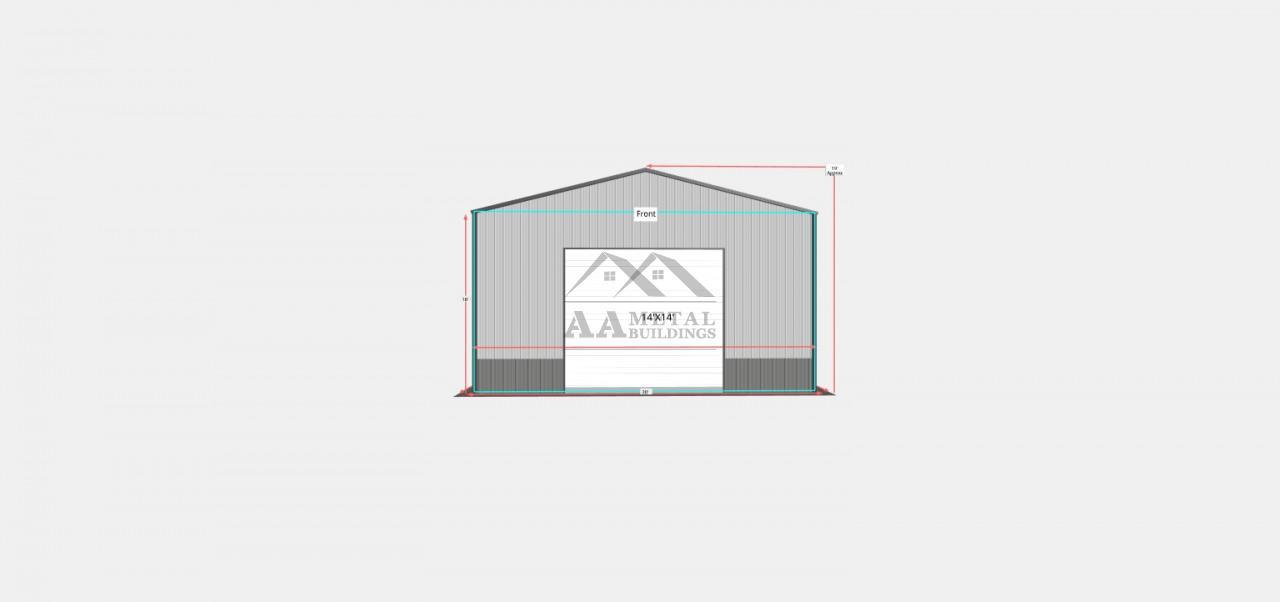 30x45 Commercial Metal Building
