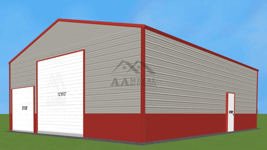 32x40 Commercial Metal Building