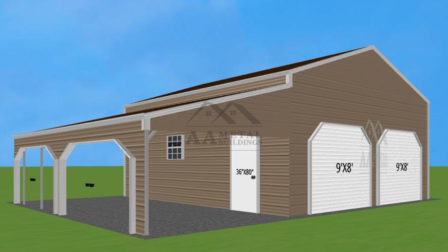 36x25 Custom Metal Building