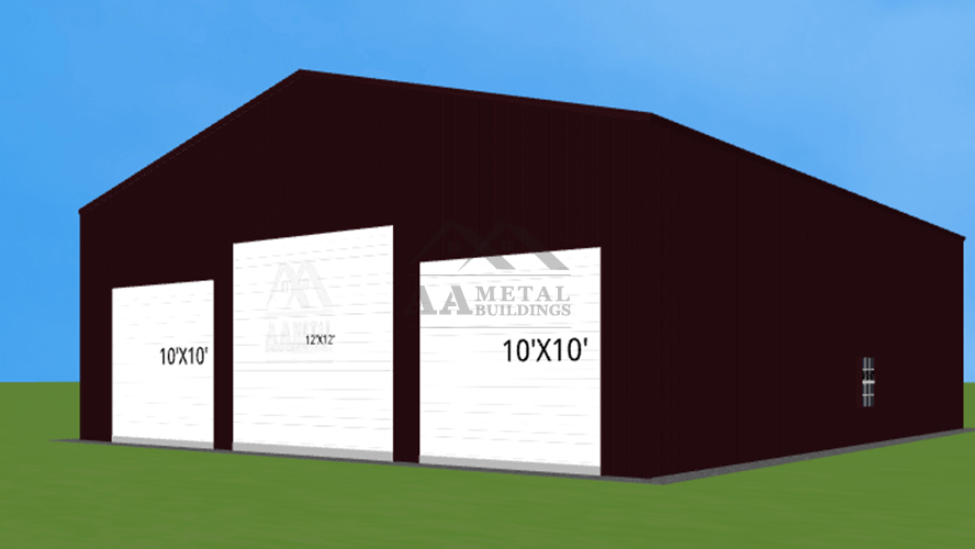 40x50 Commercial Steel Building