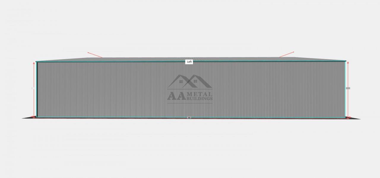 40x80 Commercial Carport