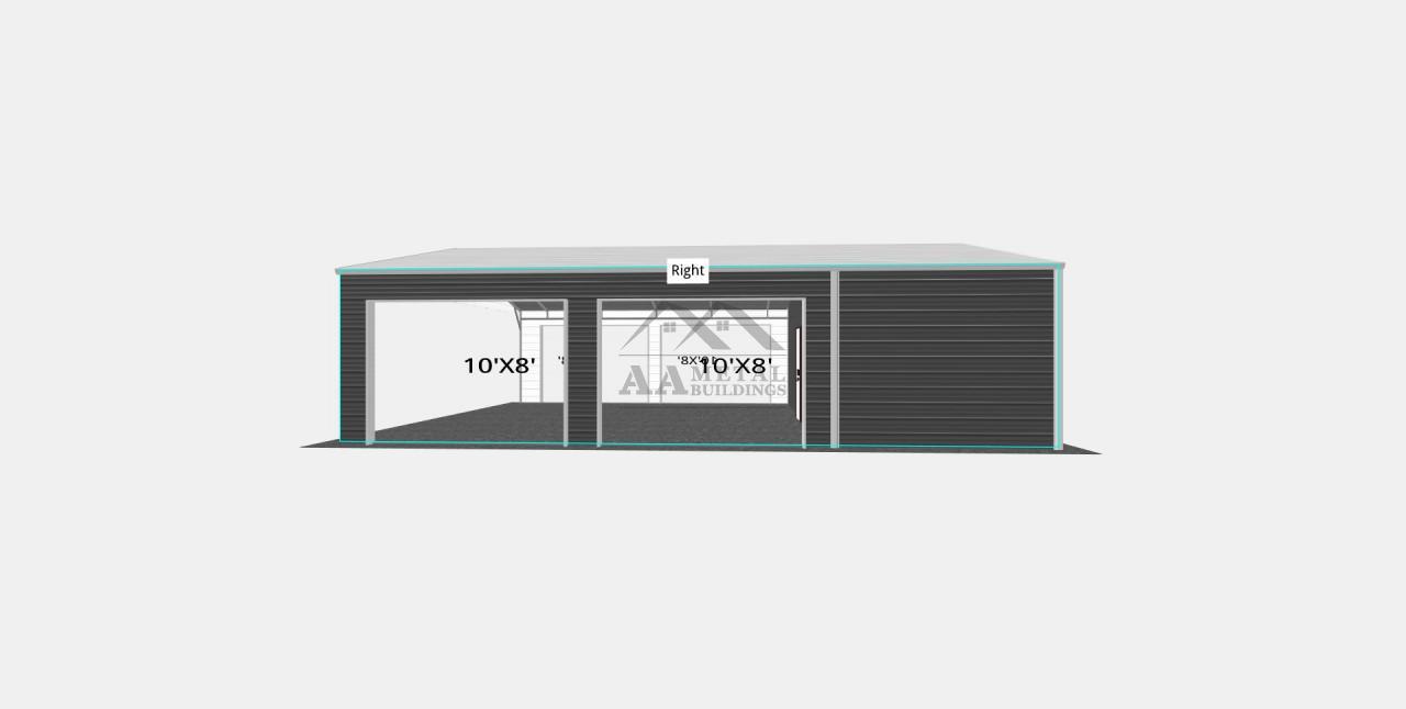 26x35 Multipurpose Utility Building