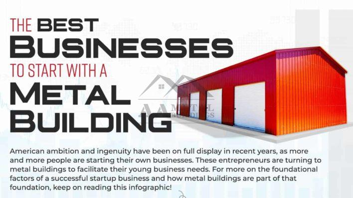 The Best Businesses to Start with a Metal Building