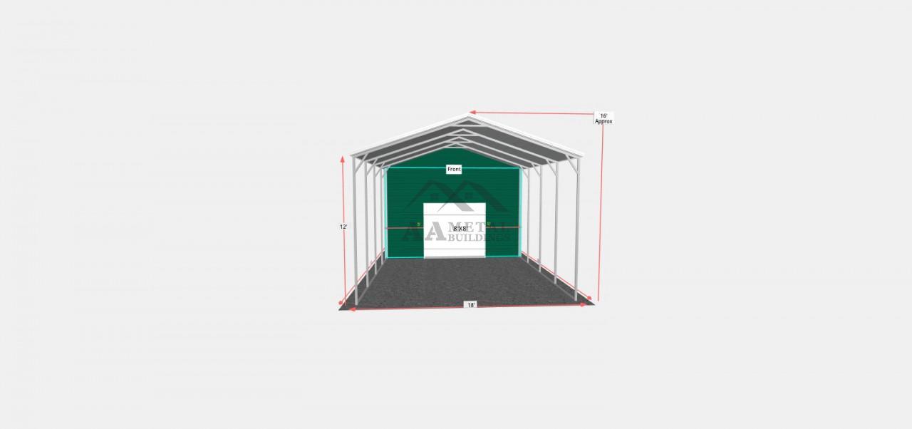 18x30 Utility Building