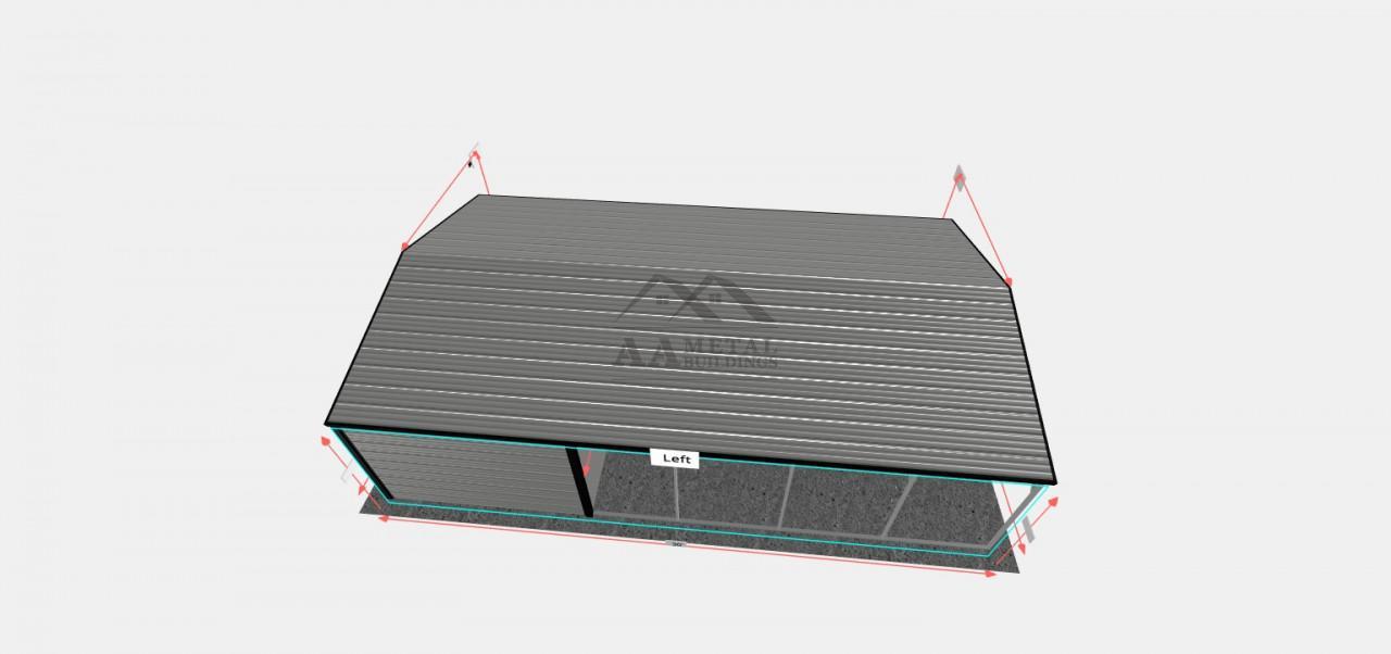 18x30 Utility Storage Building
