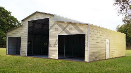 A-Frame Roof Barns