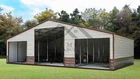 Continuous Roof Style Barns