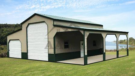 Raised Center Style Barns